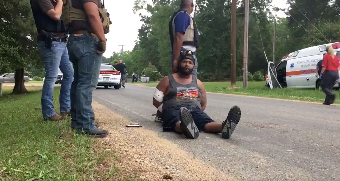 A man identified as Cory Godbolt suggested to a reporter on Sunday that the violence followed a dispute...