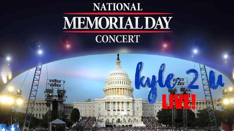 Kyle2U LIVE: National Memorial Day Concert 2017 on PBS