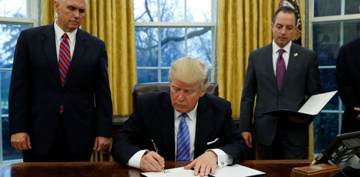 US President Donald Trump signed an executive order withdrawing his country from the TPP within days of reaching office.
