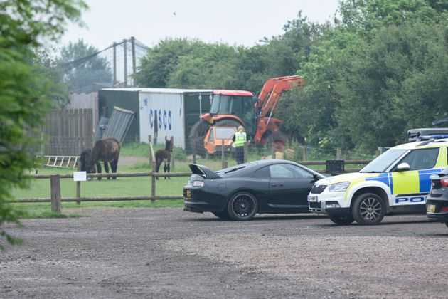 Visitors were evacuated from Hamerton Zoo Park today as police and air ambulance were called to a 'very...