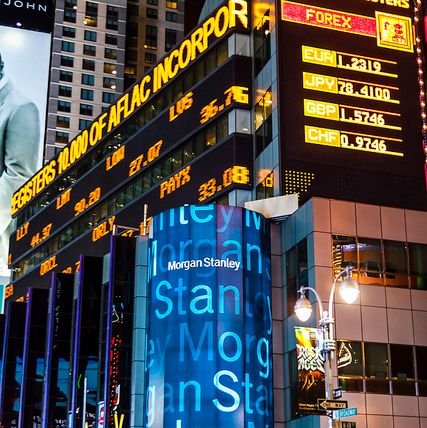 Morgan Stanley Ticker, New York City