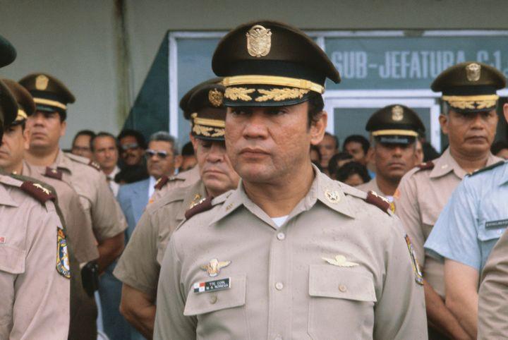 Ex-Dictator of Panama Manuel Noriega
