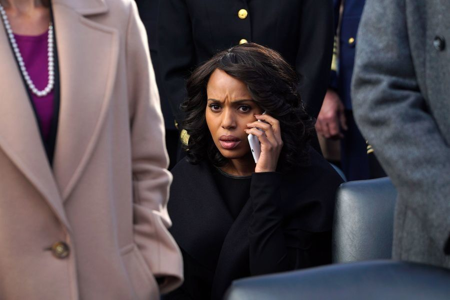 "Kerry Washington as Olivia Pope on ""Scandal."""