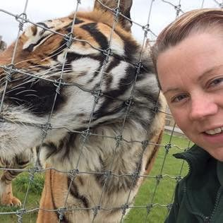 Rosa King, 33 who has died after being mauled by a tiger at Hamerton Zoo, Cambridgeshire.