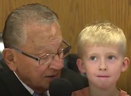 Little Boy Decides Dad's Parking Fine In Court And Surprises Everyone With His Choice
