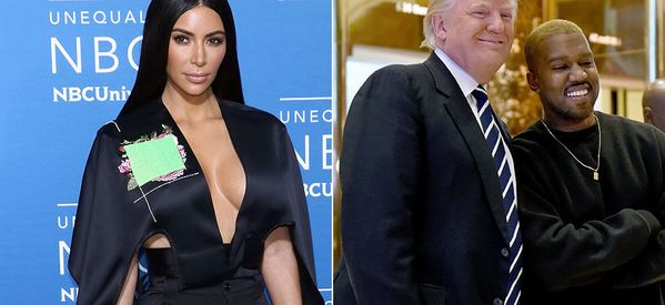 Kim Kardashian Defends Kanye West's Controversial Meeting With Donald Trump