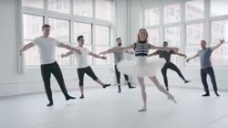 Watch CrossFit Athletes Try (And Fail) To Keep Up With A Ballet