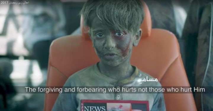 The video sparked controversy by featuring a child actor playing Omran Daqneesh, who was injured in an air strike by Bashar Al-Assad