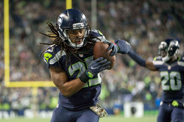 """Mike is a man of integrity,"" Sherman tells HuffPost via text. ""As a man. As a father. As a teammate. As a brother. As a frie"