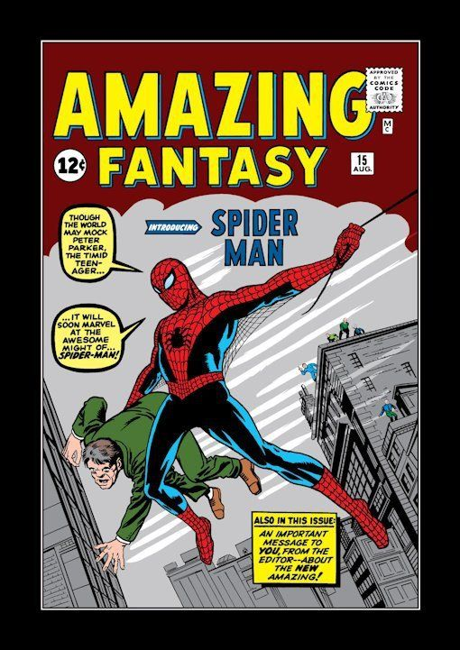 Spider-Man appeared in Amazing Fantasy 15 in 1962.