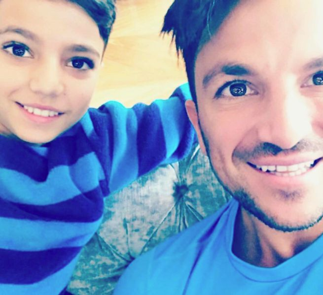 Peter Andre Defends The Beckhams Against Criticism For Allowing Cruz To Go To The