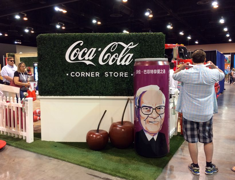 Coca-Cola Display