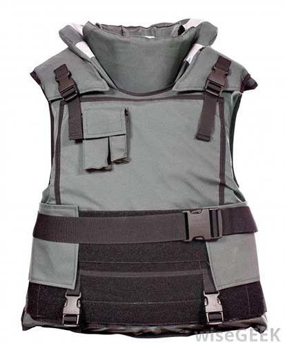 <em>Screen shot of kevlar bullet-proof vest</em>