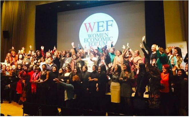 Women Economic Forum Modeling Good Vibes for Positive Global Change