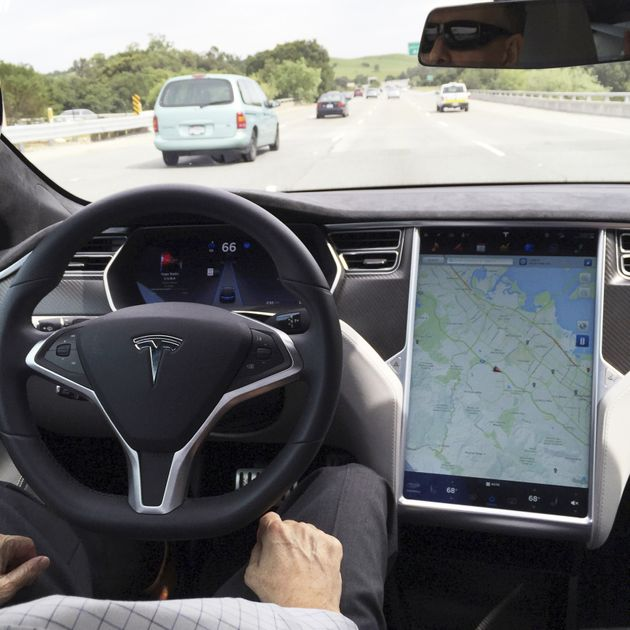 tesla s model 3 dashboard is a glimpse of the future