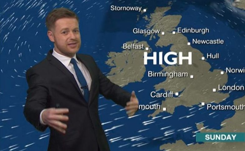 Tomasz Schafernaker 'Delighted' To Be Voted Nation's Favourite Weather