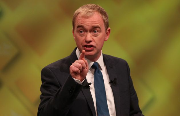 Tim Farron says the NHS is facing a