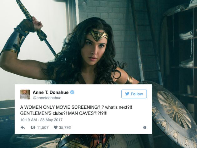 It's Not 'Sexist' To Exclude Men From A 'Wonder Woman'