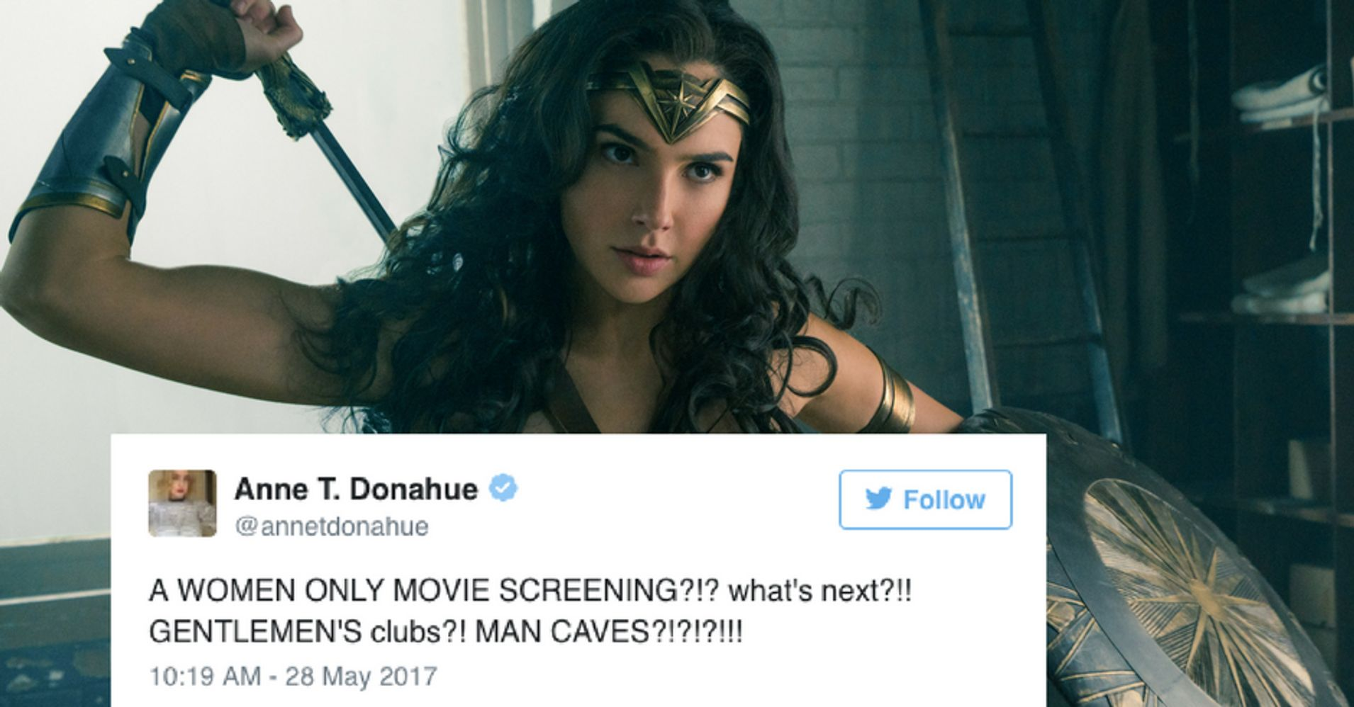 Its Not Sexist To Exclude Men From A Wonder Woman Screening  Huffpost-7215