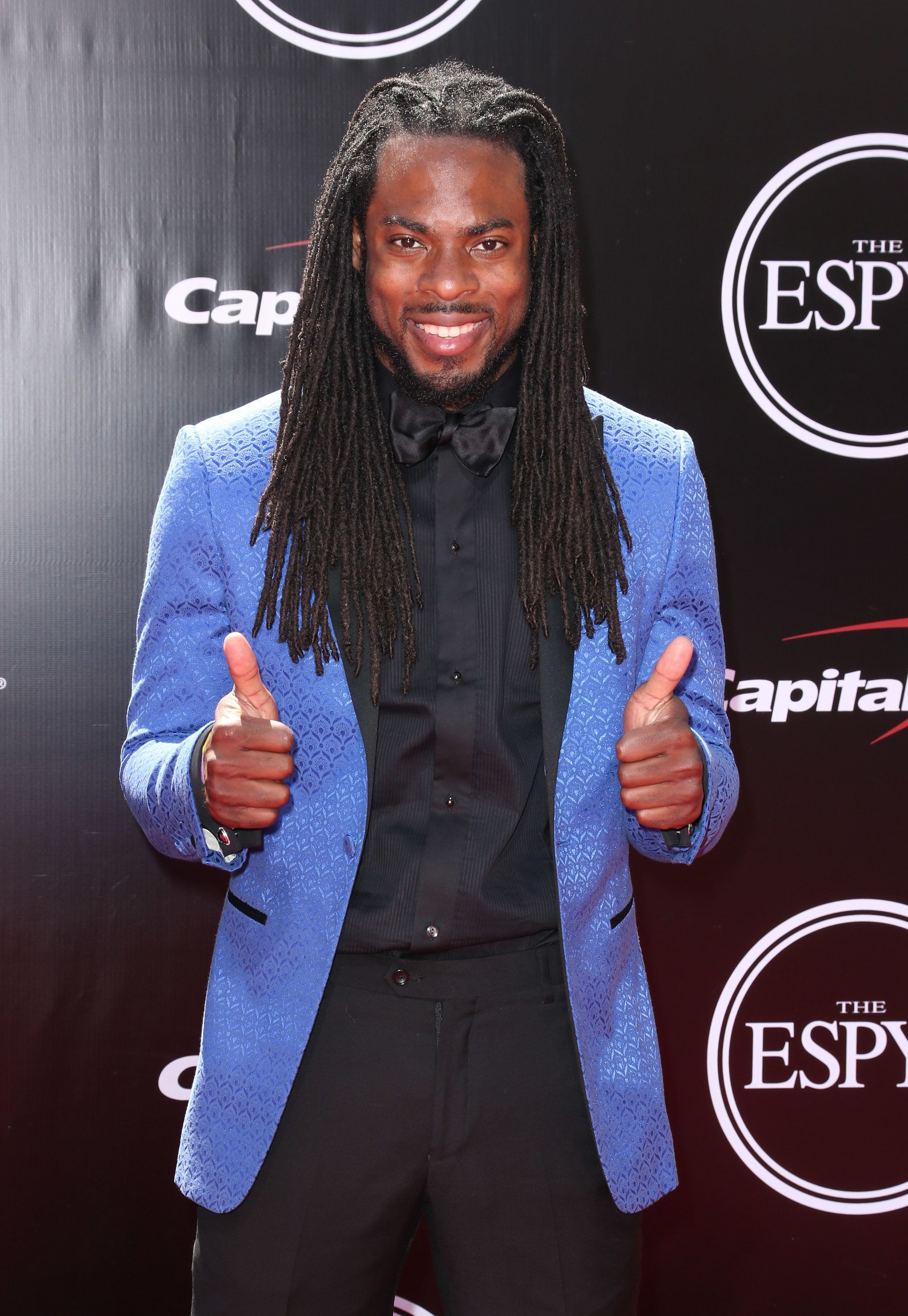 LOS ANGELES, CA - JULY 13:  Richard Sherman attends The 2016 ESPYS at Microsoft Theater on July 13, 2016 in Los Angeles, California.  (Photo by Todd Williamson/Getty Images)