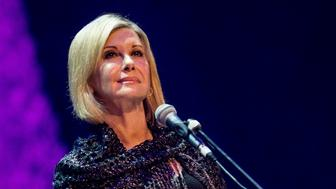 GLASGOW, SCOTLAND - JANUARY 24:  Olivia Newton-John Performs at The Glasgow Royal Concert Hall as part of the Celtic Connections Festival on January 24, 2017 in Glasgow, United Kingdom.  (Photo by Ross Gilmore/Redferns)