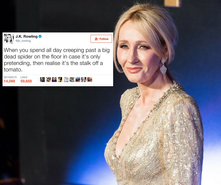 35 Reasons J.K. Rowling Should Never, Ever Leave