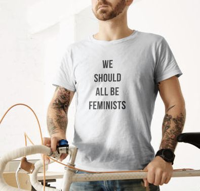 "$22, Etsy/Fourth Wave Apparel. <a href=""https://www.etsy.com/listing/520110191/mens-feminist-tshirt-we-should-all-be?ga_order"
