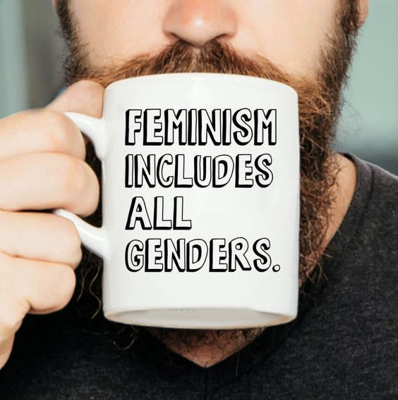"$11.97 and up, Etsy/Prints in Pyjamas. <a href=""https://www.etsy.com/listing/503151492/feminism-includes-all-genders-feminist"