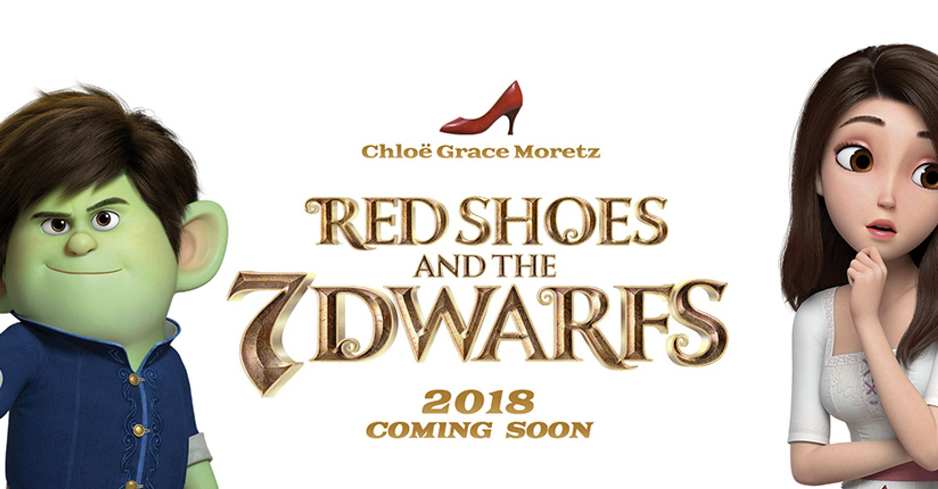 Red Shoes And The  Dwarfs Billboard