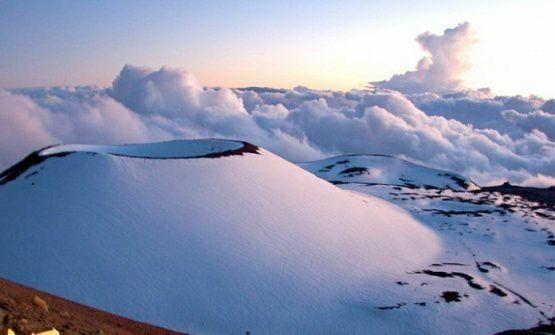 Mauna Kea volcano.