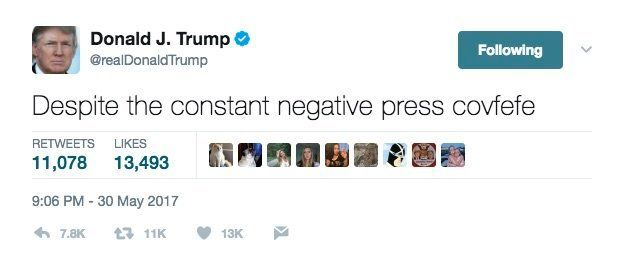 Donald Trump's Weird Typo Becomes The Hot New Word Everyone Is