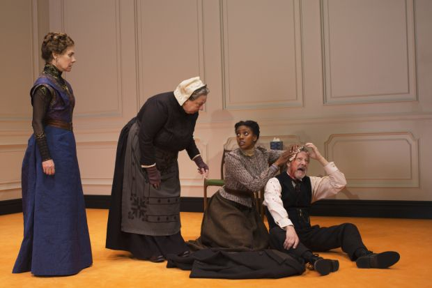 Laurie Metcalf, Jayne Houdyshell, Condola Rashad, and Chris Cooper star in Lucas Hnath's <em>A Doll&#39;s House, Part 2</em>.
