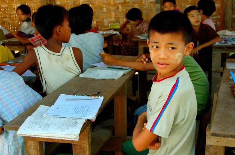 A Classroom in Myanmar