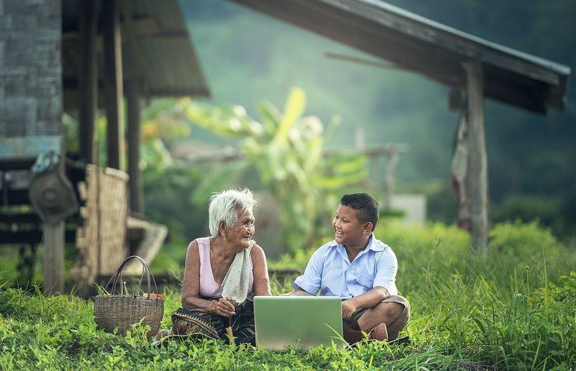 Asia, Computer, Communication