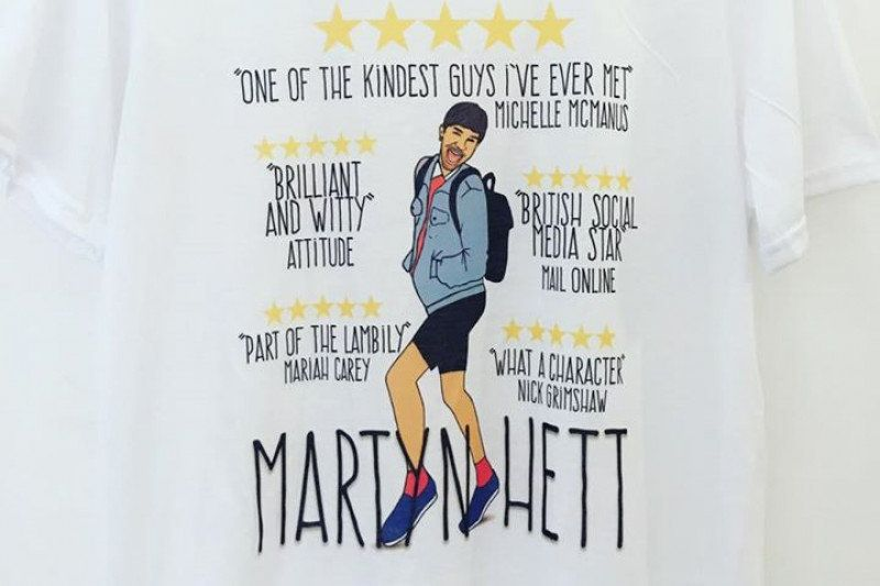 Friends Of Manchester Bombing Victim Martyn Hett Are Selling A Fundraising T-Shirt In His