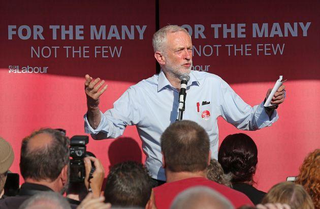 Jeremy Corbyn is enjoying a polling