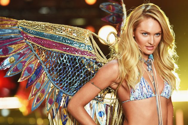 a4665c1785d Victoria s Secret Angel Candice Swanepoel from South Africa walks the  runway during the 2015 Victoria s.