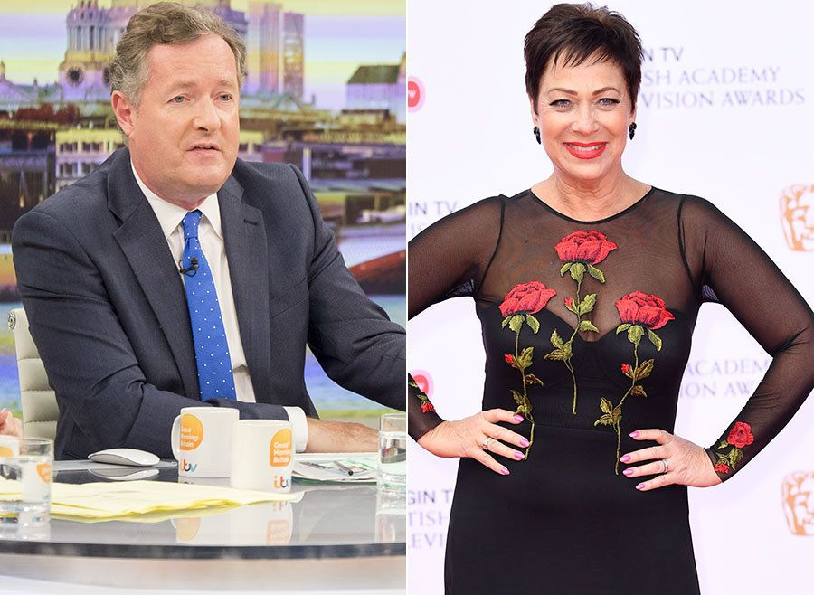 Denise Welch Blocked By Piers Morgan On Twitter, After Challenging His Views On Mental