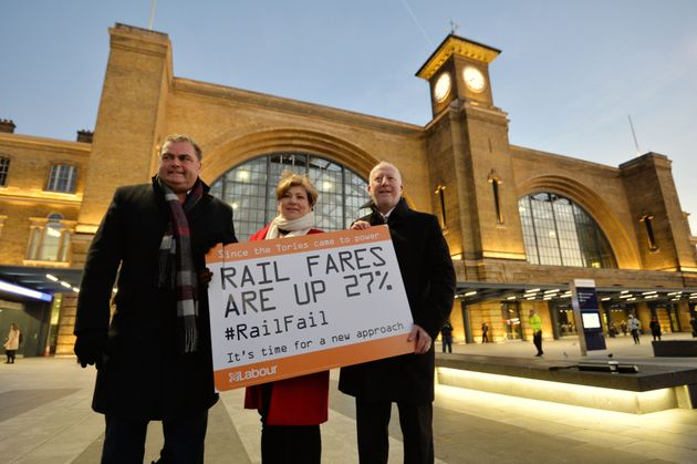 Labour: Rail passengers would be £1k better off under renationalisation