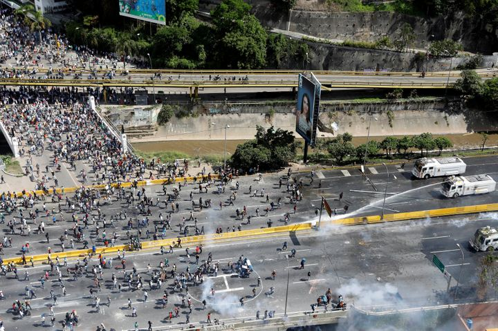 At least 60 have been killed in massive protests in the country in the last two months.
