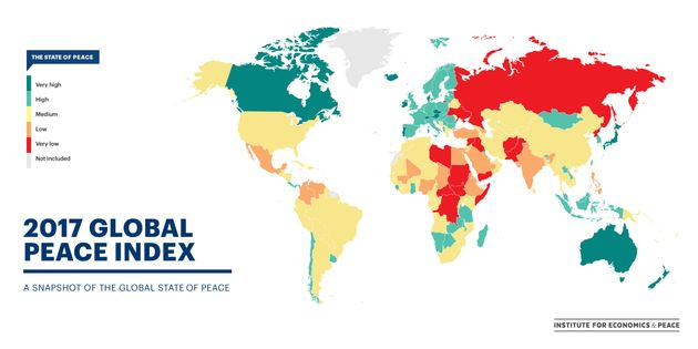 Global Peace Index 2017