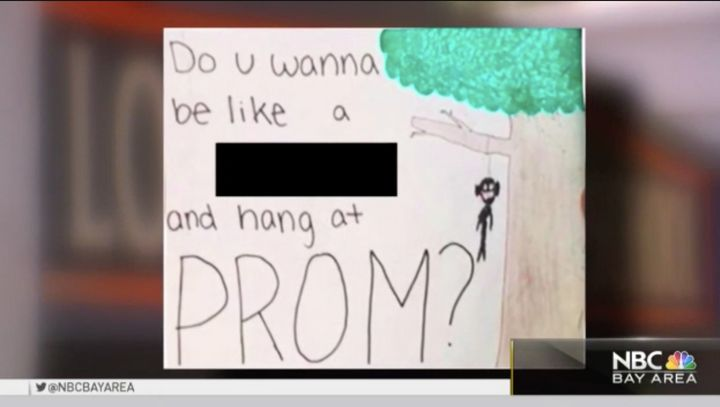 More than one student at Los Gatos High made light of the country's history of racism to ask someone to prom.
