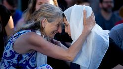 Iconic Photo Shows Mother Of Portland Victim Embracing Woman In