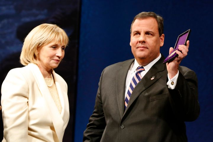 New Jersey Lt. Gov. Kim Guadagno is the front-runner among the Republican candidates to replace Gov. Chris Christie.