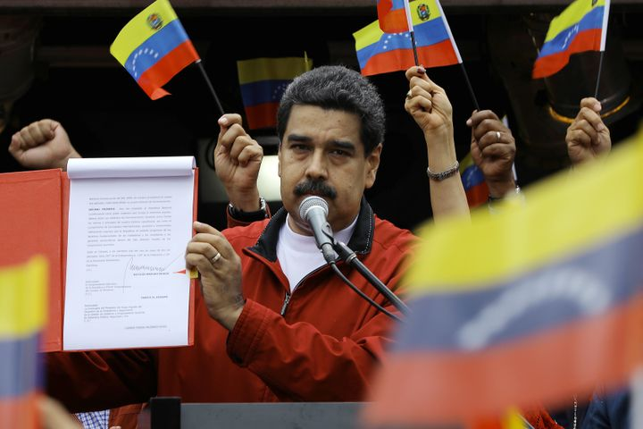 President Nicolas Maduro's control over the country is unsustainable, as is the overall crisis.