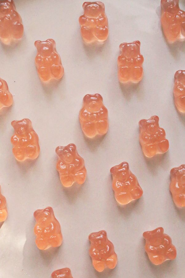 """<strong>Get the <a href=""""http://abeautifulmess.com/2017/02/try-this-rose-soaked-gummy-bears.html"""" target=""""_blank"""">Rosé"""