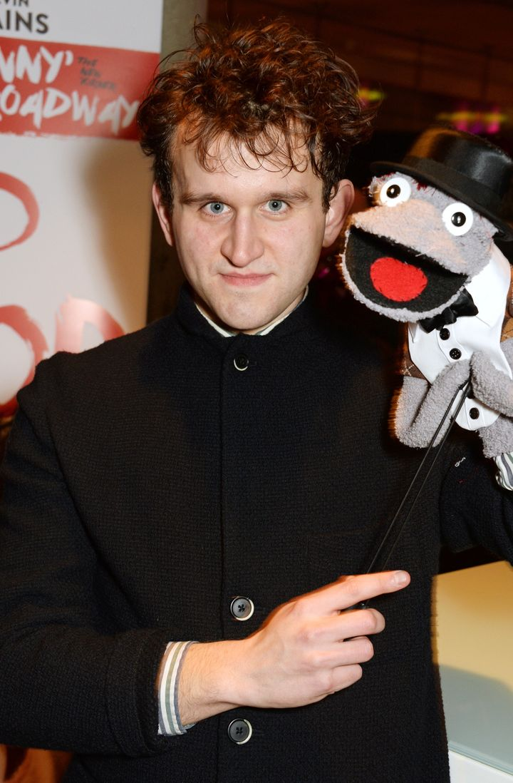 "Harry Melling attends the press night afterparty of ""Hand To God."""