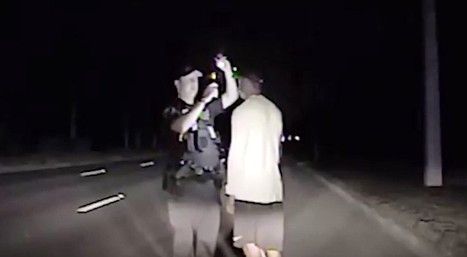 Dashcam Video Shows Confused Tiger Woods Failing Sobriety