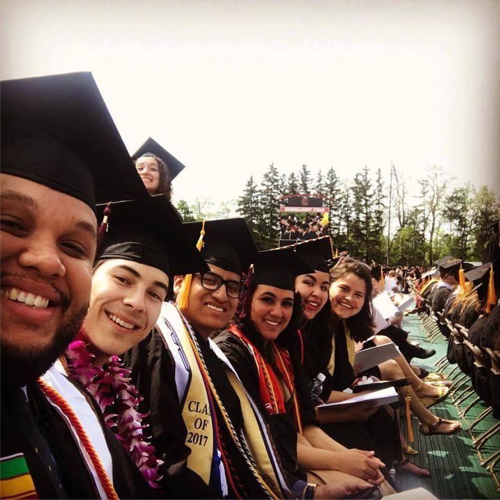 Bad-ass Latinxs graduating, Cornell University.