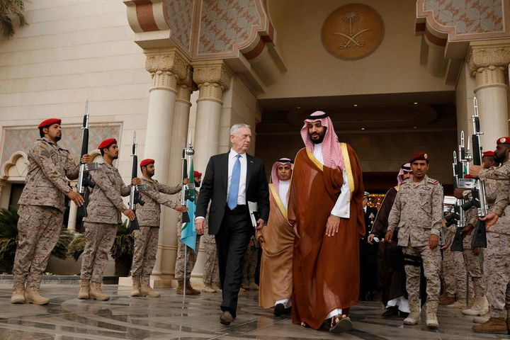 Saudi Arabia can now rely on more US weaponry on the top of an already strong defence department.